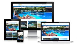 Thiết kế web nhà hàng - khách sạn