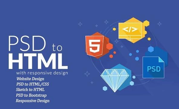 PSD to HTML - rút ngắn thời gian cho lập trình viên