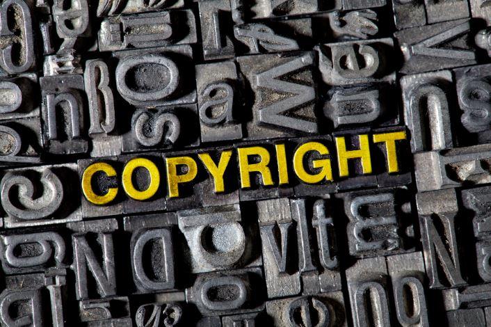 định nghĩa của Copyright.