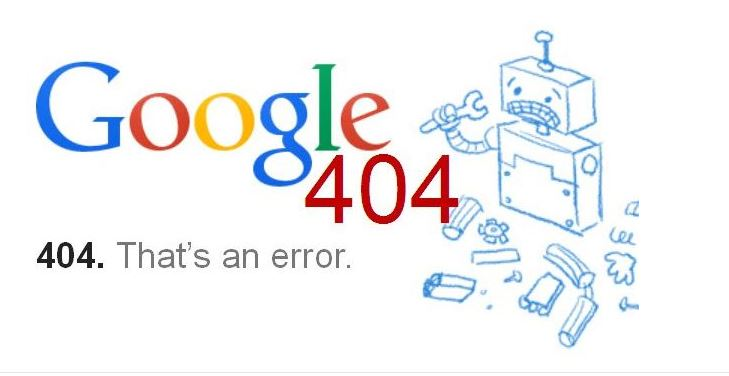 Lỗi 404 gây ảnh hưởng đến website.