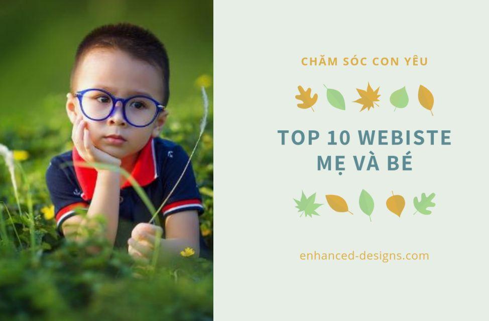 Top 10 website cho mẹ và bé mang lại thông tin hữu ích