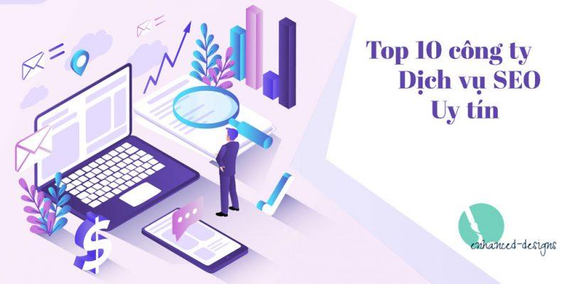 Top 10 công ty dịch vụ SEO