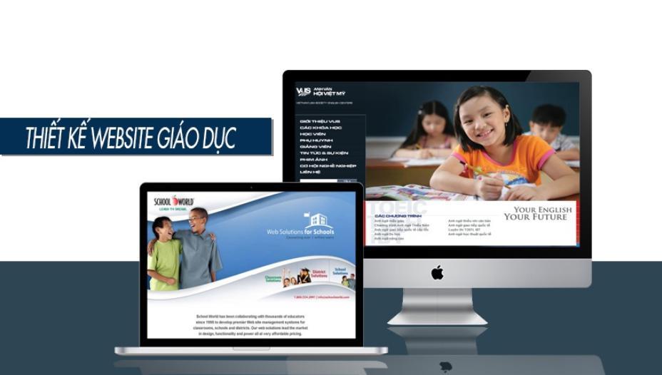 hiết kế website giáo dục – trường học là gì
