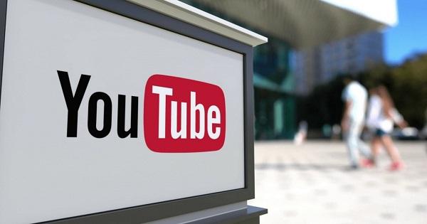 quảng cáo thông qua Youtube